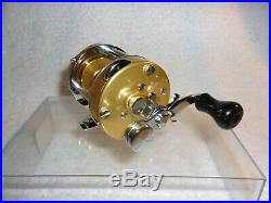 1970's Penn 920 Levelmatic Bait Casting Reel & Box Manual Wrench Lube New