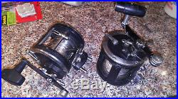 2 Penn Reels 330GTI Graphite Fishing Reel Mounting Clamps VINTAGE DISCONTINUED