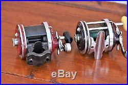 (2) Two Vintage Penn Squidder No. 146 Saltwater Fishing Reels