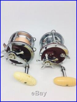 2 Vintage Penn Senator 113H 4/0 Special Saltwater Fishing Reels High Speed