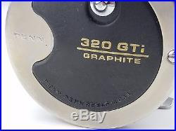 320GTi Penn Conventional Reel Vintage, Titanium Line Guide