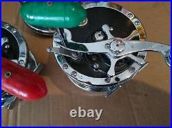 3 VINTAGE PENN MODEL NO. 49 DEEP SEA REEL Super Mariner Fishing Trolling Reels