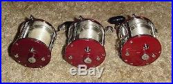 3 Vintage Penn 209 Level Wind Fishing Reel From Storage + Free Priority Shipping