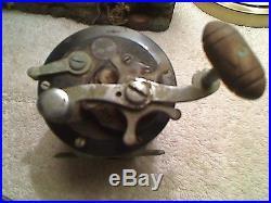 3 Vintage Penn Fishing Reels Saltwater #85-#68 Long Beach-#349 Master Mariner