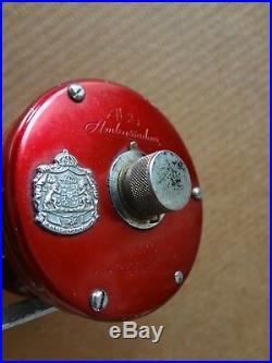 3 Vintage Salt W Fhishing Reels -abu Ambassadeur. Penn209. Shakespaeare Spk 30l