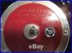 4 Fishing Reels-2 Penn 113H Special 4/0Senator & 2 Penn 114H Special 6/0 Senator