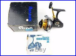713Z Penn Z Spinfisher Spinning Reel Vintage with Box Right Hand Drive