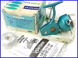 722 Penn Spinfisher Spinning Reel Vintage with Box Greenie