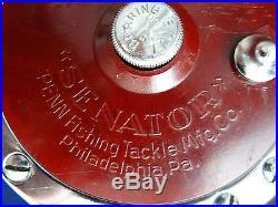 A Good Boxed Vintage Penn 6/0 Senator 114h Multiplier Big Game Reel