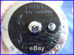A Super Boxed Vintage Penn Senator 4/0 Big Game Sea Multiplier Reel