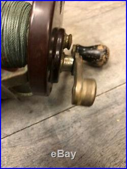 Antique Vintage Early 1930's PENN SEA HAWK 3 Posts Rare Collectible Fishing Reel