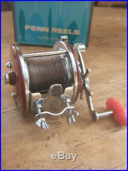 BOXED VINTAGE PENN PEER No. 309 SEA FISHING REEL MADE IN USA