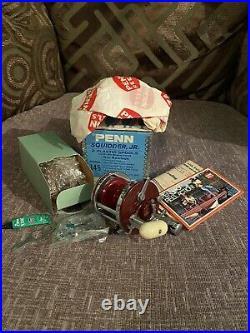 Brand New BOXED Vintage Penn Squidder Junior 146 Multiplier Fishing Reel PENN