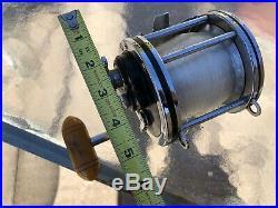 Clean Vintage PENN Senator 114 6/0 BIG GAME Conventional Saltwater Fishing Reel