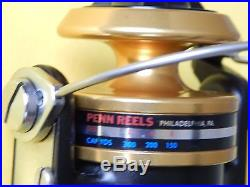 Collectible Vintage PENN 430SS Spinfisher skirted spool spinning reel-unused