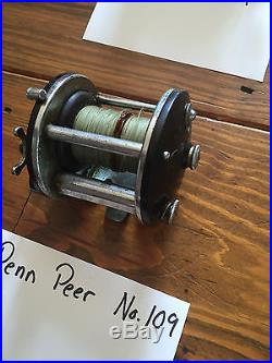 Collection of Vintage Penn Fishing Reels