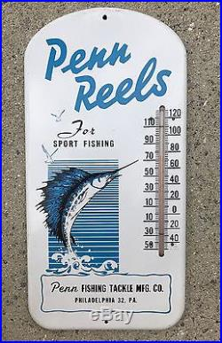 Early Penn Reels Thermometer
