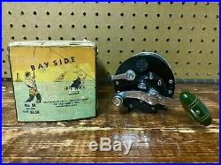 Early Vintage Penn Bayside Reel And Original Box Fishing