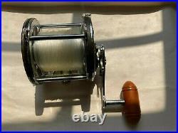 Early Vintage Penn Senator 113 4/0 Saltwater Fishing Reel -Made in the USA