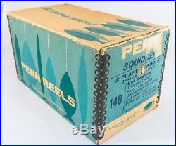 Exc Vintage Penn Squidder 140m Saltwater Fishing Reel With Box And Extra Spool