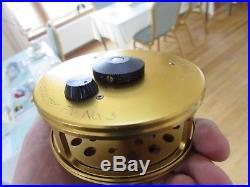Excellen vintage sharpes penn gold medal freshwater no 3 trout fly fishing reel