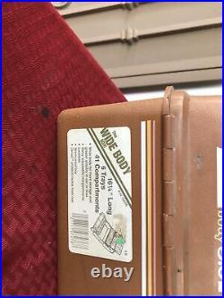 Fenwick Model 5.6 Fishing Tackle Box With Lots Of Stuff Inside
