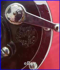 Fine Vintage Penn Senator 6/0 Game Boat Reel