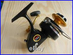 Four PENN Spinfisher Z spinning reels, made in USA, new with original boxes