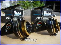 From REBE REELS 2x penn 712Z + BOX, vintage reels, Excellent