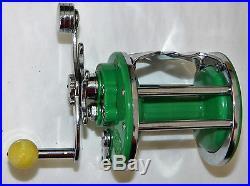 Green Penn Monofil No. 26 Left Vintage Collector Fishing Reel L/h 1954-55