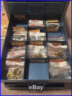 Huge Vintage Lot USA Made Original Penn Reel Parts Cabinet Hundreds Rare Unique