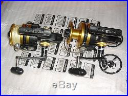 Lot Of 2 Vintage Penn750ss Spinning Reels Great Condition