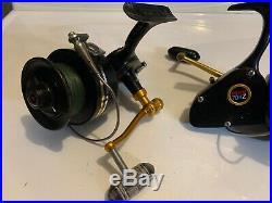 Lot Of 2 Vintage PENN 704Z Spinfisher Saltwater Spinning Reels