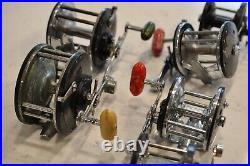 Lot of Vintage Penn Fishing Reels Long Beach USA 149 67 80 85 60 65 Salt Fresh