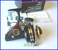 Mulinello Penn 712 Z New In Box Reel Vintage Spinning Made In U. S. A