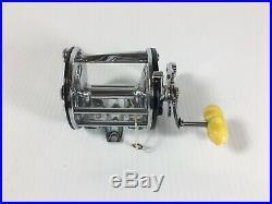 NEW Penn Leveline 350 Fishing Reel Stainless Spool Never Spooled Vintage USA