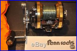 NEW Vintage Penn 970 Mag Power Conventional Reel In Original Box, Rare Find