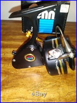 NEW! Vintage Penn Z Series 704Z Spinfisher All Metal Full Bail Reel ORIGINAL BOX