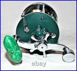 NEW Vintage Very Rare Green Penn Peerless No 9 Reel from my collection
