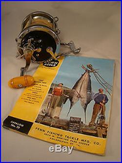 Near Mint Vintage Penn Senator 9/0 Reel for big game fishing Marlin Tuna Shark