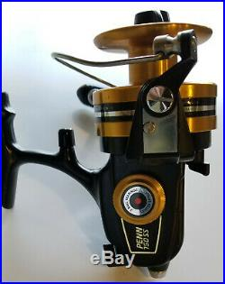 New 35+ Year Old Vintage Penn 750ss/750 Ss High Speed Spinning Reel Made In USA