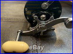 New PENN Beachmaster 155M Metal Spool Vintage Saltwater Fishing Reel with Box