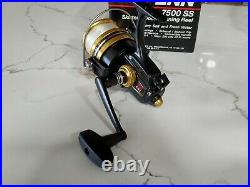 New Vintage PENN 7500 SS Spinning Hi Speed Reel MADE IN USA