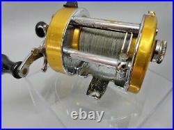Nice Vintage PENN 940 LEVELMATIC BAIT CASTING REEL 1970's! NO RESERVE