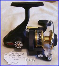Nice Vintage Penn 440 Ssg Reel 6/10/21p Nice Working Instant Anti USA