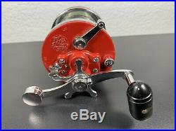 Nice! Vintage Penn No. 146 Squidder Narrow Conventional Fishing Reel Made USA