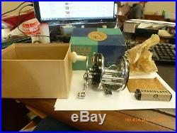 OCEAN CITY No. 112 Fishin Reel Nice In Box With Lube And Improved Reel Clamps