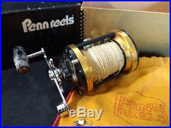 Old Vtg Collectible Penn Mag Power 980 Spool Fishing Reel And Box Made In USA