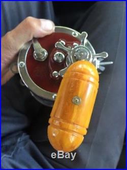 PENN 114H SENATOR 6/0 Deep Sea Big Game SALTWATER FISHING REEL BOX MINT Vintage