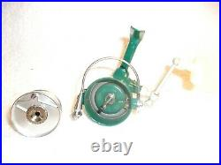 PENN 716 SPINFISHER SPINNING FISHING REEL 1960's GREENIE EXCELLENT CLEAN